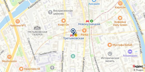 Ювелирная мастерская на карте Москве