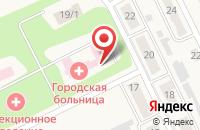 Схема проезда до компании Щёкинская районная больница в Советске