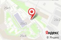 Схема проезда до компании Ремсервис в Москве