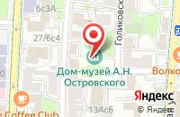 Схема проезда до компании Сплавинвест в Москве
