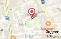 Схема проезда до компании Элен в Москве