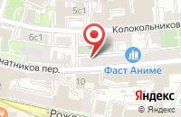 Схема проезда до компании Техмаркетинг в Москве