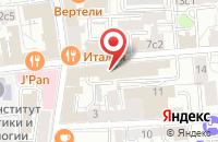 Схема проезда до компании Энергосеть-К в Москве
