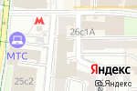 Схема проезда до компании Нова-Пицца в Москве