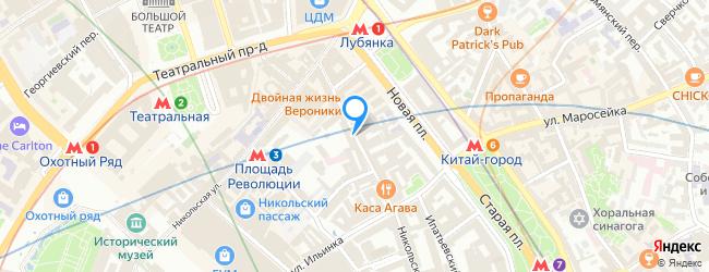 Большой Черкасский переулок