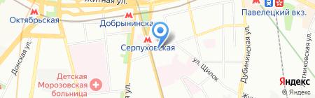 Миа на карте Москвы