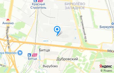 Местоположение на карте пункта техосмотра по адресу г Москва, проезд Востряковский, д 10Б стр 6