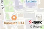 Схема проезда до компании Волшебное пространство в Москве