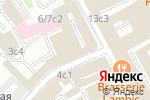 Схема проезда до компании НьюПорт Тревел в Москве