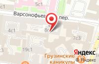Схема проезда до компании Издательство Серебрянные Нити в Москве