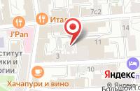Схема проезда до компании Триэс в Москве