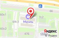 Схема проезда до компании Книжное Обозрение в Москве