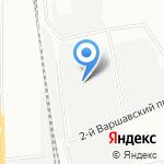 Метизный двор на карте Москвы