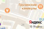 Схема проезда до компании Vision Studio в Москве