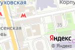 Схема проезда до компании Финансовый Дом Наследие в Москве