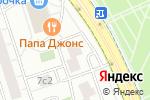 Схема проезда до компании Groundz в Москве