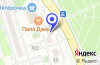 Схема проезда до компании МЕБЕЛЬНЫЙ САЛОН ВЭЙТОН в Москве