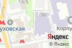 Схема проезда до компании Форпост-менеджмент в Москве