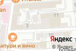 Схема проезда до компании Адвокат-5 в Москве