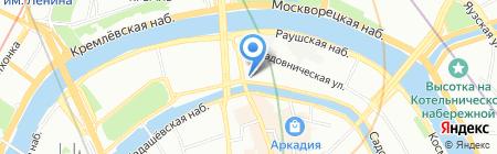 Банкомат Газпромбанк на карте Москвы