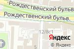 Схема проезда до компании Центр паровых коктейлей в Москве