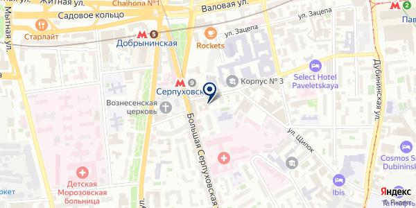 Нортекс на карте Москве