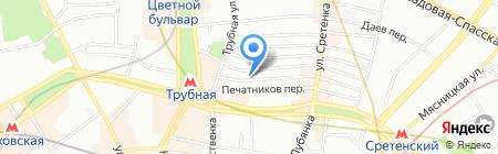 Андрей Макаров и Александр Тобак на карте Москвы