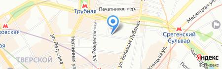 Пикассо на карте Москвы