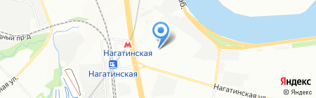ДЭФО на карте Москвы