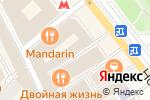 Схема проезда до компании Gold Staff в Москве