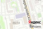 Схема проезда до компании V-Viza в Москве