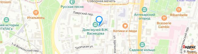 переулок Васнецова