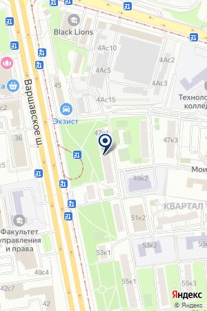 АВАРИЙНАЯ СЛУЖБА ЗДАНИЙ И СООРУЖЕНИЙ на карте Москвы