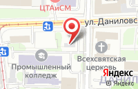 Схема проезда до компании Информ Экспресс в Москве