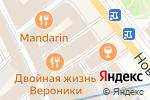 Схема проезда до компании За правовую Державу в Москве