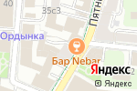 Схема проезда до компании Bibiona в Москве