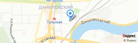 Гамма на карте Москвы