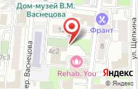 Схема проезда до компании Авм-Трейд в Москве
