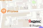 Схема проезда до компании Smart cut в Москве