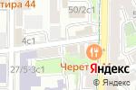 Схема проезда до компании Allora School в Москве
