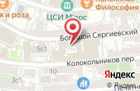 Схема проезда до компании Акценты в Москве