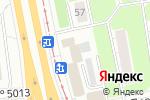 Схема проезда до компании Ладос-Мебель в Москве