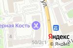 Схема проезда до компании Протон-А в Москве