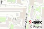 Схема проезда до компании Comedy Club Production в Москве