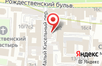 Схема проезда до компании Деловая Столица в Москве