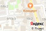 Схема проезда до компании Все Иконы в Москве