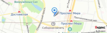 ВНИИСМИ на карте Москвы