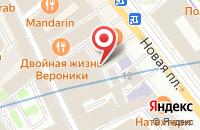 Схема проезда до компании Столица в Москве