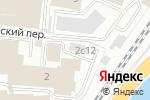 Схема проезда до компании Center-T в Москве