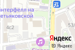 Схема проезда до компании Катран в Москве